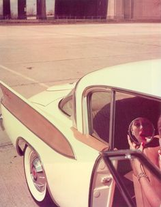 deep down #photo #retro #vintage #car #lipstick