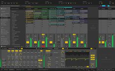 Ableton Live Redesign on Behance
