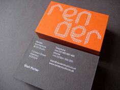 Render Architecture & CGI Studio on Branding Served #branding #card #design #bussines #logo