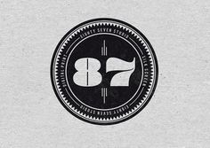 87 STUDIO | WTWTW #numbers #logo #stamp #87studio
