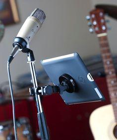 Rock Solid Pro Mic Kit #ipad #mic #gadget #stand