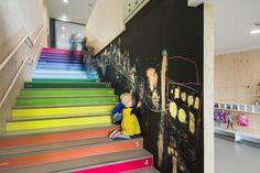 Šmartno Timeshare Kindergarten – Spaces Combined into one Learning Landscape