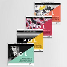 Pol Invitation by www.vanessavanselow.com #invitation #image #eco #fashion #type #layout #colour