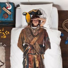 Pirate Duvet by Snurk #tech #flow #gadget #gift #ideas #cool