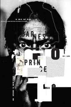 Tyrone Drake Graphic Design – MILES #editorial #poster #typography