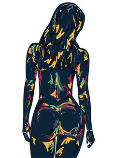girl #sexy #girl #design #graphic #panzin #illustration #art