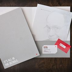 design work life » Red Square Agency Rebranding #agency #red #stationary #details #square