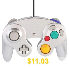 HY #- #5101 #Wired #Single #Point #Vibration #Game #Controller #- #SILVER