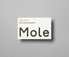 Mole Architects / Bench.li #typogrphy