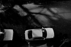 streetwalker #night #b&w #cars #shadow