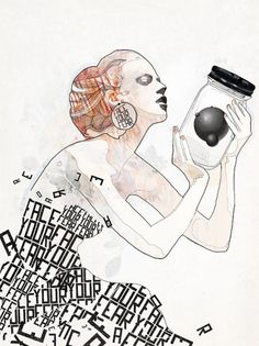Works 2010 on the Behance Network #illustration #typography #fashion #figure