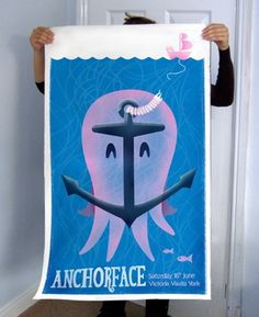 DogEatCog | My Work | Anchorface #gig #illustration #dogeatcog #poster #anchorface
