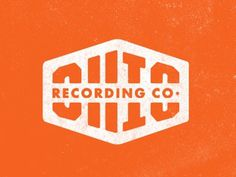 FFFFOUND! | Dribbble - Ohio Recording Company by Jeremy Paul Beasley #logo