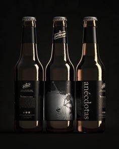 San Miguel Anécdotas #packaging #beer #label #bottle