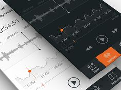 Sleep Tracker UI, Part 2 #user #design #application #interface #sleep #experience #iphone #app