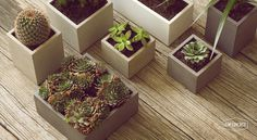 NYSTROM products #nystrom #concrete #planters
