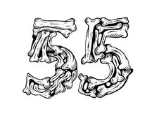 Vasava #illustration #bone #typography