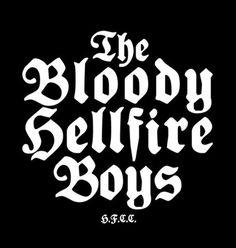 FFFFOUND! | Love Machine Presents: Hell Fire Canyon Club : The Butcher's Block #type