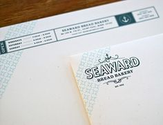 Lovely Stationery . Curating the very best of stationery design #vintage #logo #white #blue #sea #letterhead #anchor #navy #collateral