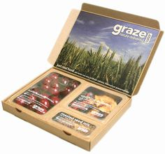 Graze Box - Sustainable Packaging Design #packaging #design #graphic #3d