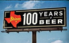 • SHINER BILLBOARDS : CURTIS JINKINS #beer #billboard