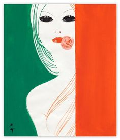 International Textiles cover No. 484, IV 1972 | MODESQUISSE
