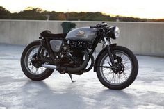 caferacer | Tumblr #cafe #honda #motorcycle #racer