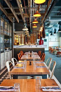 Jamie-s-Italian-in-Westfield, Stratford-City-Blacksheep-Jamie-Oliver-photo-Gareth-Gardner-Yatzer-7 #interior design #restaurant