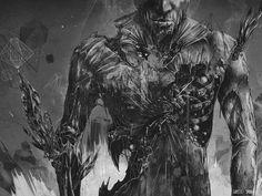 wp_1024.jpg (1024×768) #white #black #artwork #and #dark