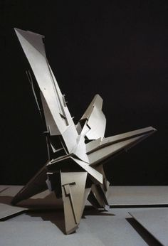 BLDGBLOG: Star Wheel Horizon #abstract #model #lebbeus #woods #architecture