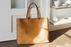 Kathrin Heubeck leather bag handmade
