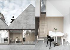 Lotta Agaton: Lagnö #interior #concrete #design #decor #architecture #deco #decoration