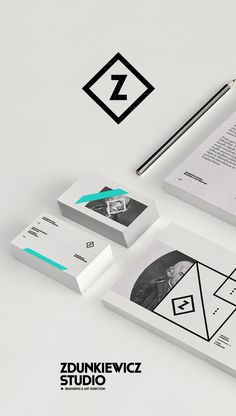 Zdunkiewicz Studio / Self Promotion on Behance #design #graphic #identity