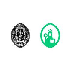 UNIVERSIDADE DE COIMBRA, ALTA E SOFIA by Miguel Palmeiro (2012) #portugal #branding