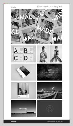 Hunt&Co #design #website #grid #layout #web