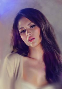 Ellen Adarna by SoulOfDavid #illustration #graphic #drawing #art