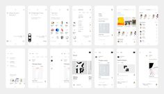 #app #rover #ios #mobile #ui #interface #modern #contemporary