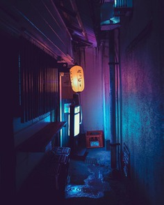 Cyberpunk and Electric Nights of Tokyo by Liam Wong