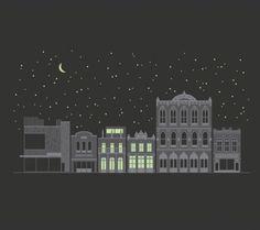 G. Lamson · Multi-discipline Designer · lllustrator · Austin, TX #illustration #buildings
