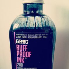 Grog black ink #ink #graffiti #black #writing #grog