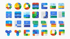 The Google Calendar app | Casestudy | B-Reel #google #icons