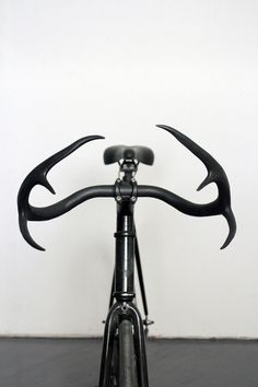 Between | User experience design #bicycle #antlers #bike #black