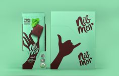 NibMor chocolate packaging