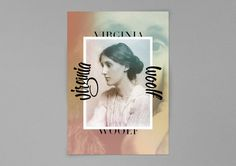 Virginia Woolf #patrice #barnab #lettering