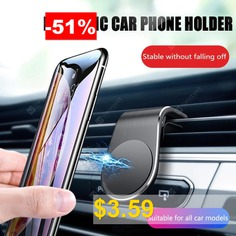 OLAF #Universal #Air #Vent #Magnet #Car #Phone #Holder #Stand #for #Iphone #Huawei #Samsung #Mobile #Phone