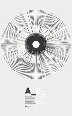 peter crnokrak - typo/graphic posters #minimal #black and white
