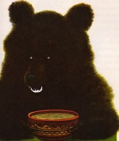 Lutiy bear by Feodor Rojankovsky #illustration #bear