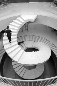 staircase / Pablo Muñoz Payá Arquitectos