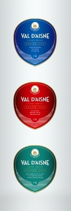 Val D'Aisne - Rebranding (Study) on the Behance Network #packaging #water #bottle