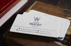 Super Whatnot | The Design Ark #letterpress #cards #business